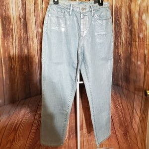 Mossimo High Rise Mom Jeans Sz 6